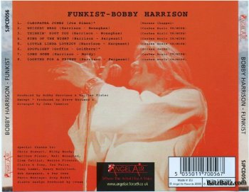 The Funkist Back Cover