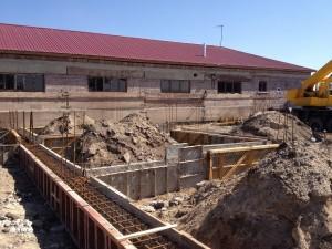 Armenian School Construction - Dec 2012