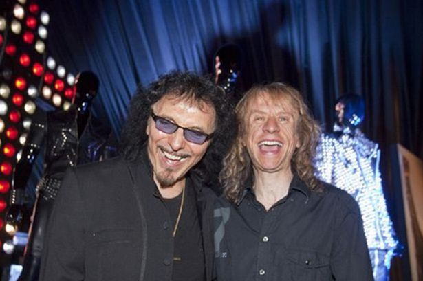 Tony Iommi with Brian Tattler