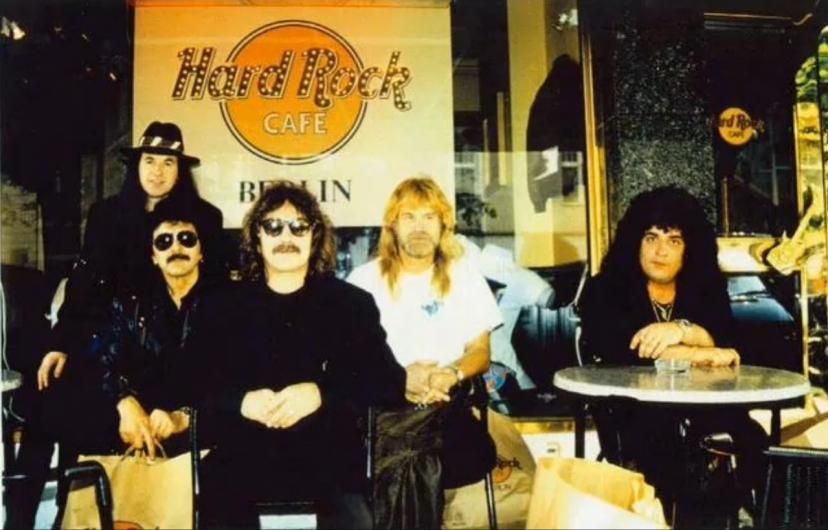Black Sabbath 1994 Rondinelli