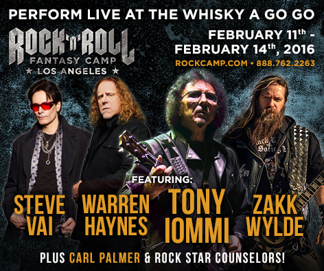Rock & Roll Fantasy Camp | The Official Tony Iommi Website - photo#8