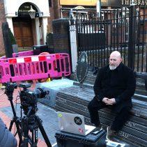 Black Sabbath Bench Reinstalled in Birmingham